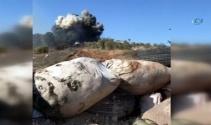 Katme köyünde YPG cephaneliği vuruldu