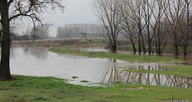 Tunca Nehrinden alarm durumu