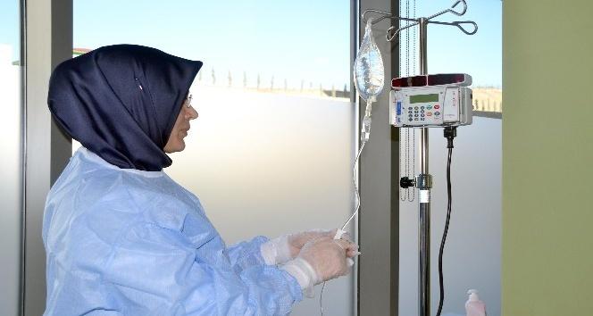 Yozgat'ta kanser hastaları kemoterapi tedavisi için bagitmeyecek