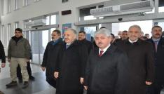 Bakan Ahmet Arslan Doğu Ekspresiyle yolculuk yaptı