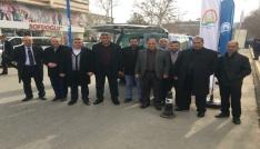 Afrinde Zeytin Dalı Operasyonunda mücadele veren Mehmetçik için bal gönderdiler