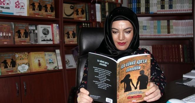Ev hanımı Hilal Erdoğan 'aşk'ın kitabını yazdı