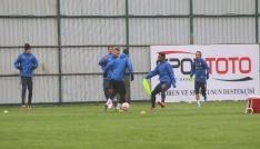 Çaykur Rizespor, MKE Ankaragücü maçı çalışmalarını sürdürüyor