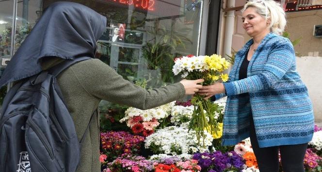 Kırıkkaleli çiçekçilerde 14 Şubat yoğunluğu