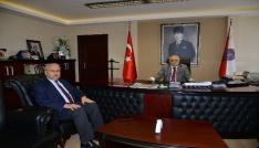 Vali Necati Şentürk, İl Emniyet Müdürlüğünü ziyaret etti