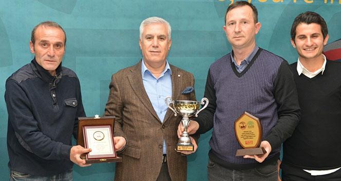Orhan Can Turnuvasından Nilüfer ekibine ikincilik kupası