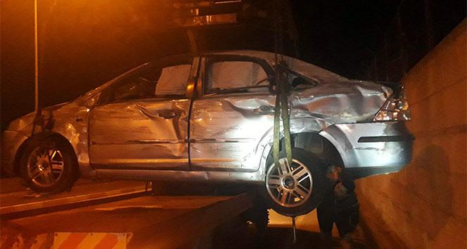 Denizlide trafik kazası: 4 yaralı