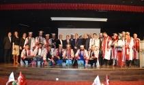 Libyalı öğrencilerin mezuniyet coşkusu