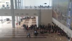 Ağrı Ahmed-i Hani Havalimanında 28 bin 330 yolcuya hizmet verildi