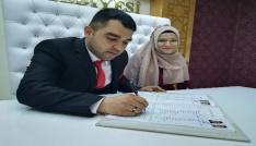 14 Şubat için Kırşehirde 11 çift nikah masasına oturdu