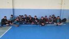 Ispartada düzensiz göçmen operasyonu