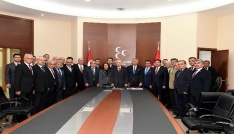 MHP Lideri Bahçeli, Başkan Günaydını kabul etti