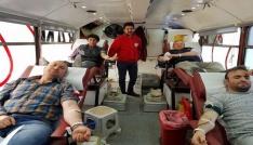 Öğrenci velilerinden Kızılaya kan bağışı