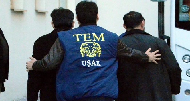 Uşak'taki FETÖ operasyonunda 6 kişi tutuklandı