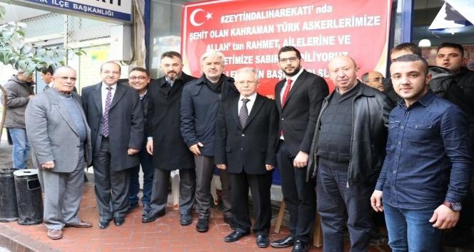AK Parti Akhisar Gençlik Kollarından şehitler için lokma hayrı