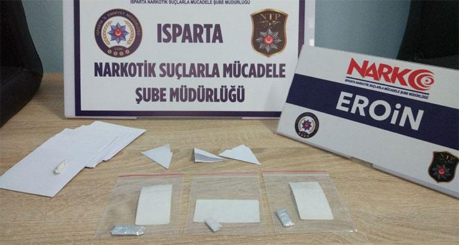 Ispartada uyuşturucu operasyonu: 6 gözaltı