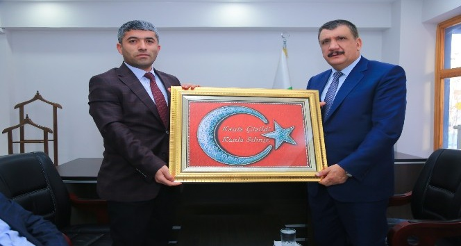 Başkan Gürkan, esnaf odalarını ziyaret etti