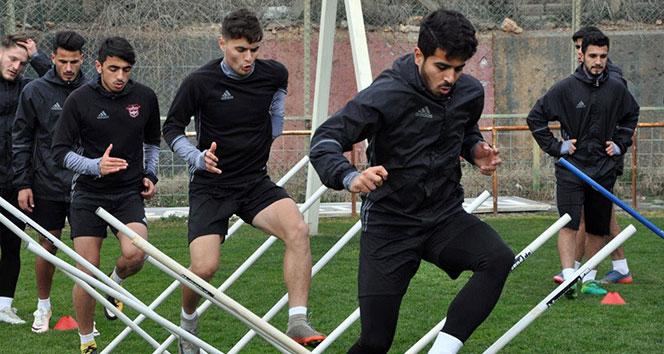Gaziantepspor, Erzurumspor maçı hazırlıklarını sürdürdü