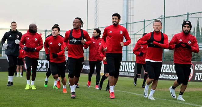 Gazişehirde İstanbulspor maçı hazırlıkları başladı