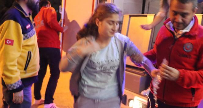 14 öğrenci zehirlenme iddiasıyla hastaneye kaldırıldı