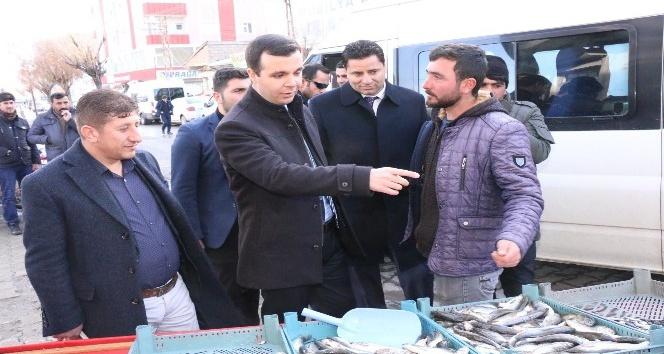 Başkan Vekili Vardar'dan esnaf ziyareti