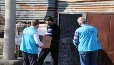 Elazığda 200 aileye yardım