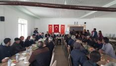 Kaman İlçesi Aydınlar Köyünde çiftçi bilgilendirme toplantısı yapıldı