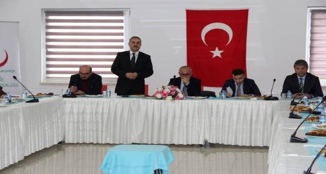 Edirne'de Bağımlılıkla Mücadele Teknik Çalışma Grupları toplantısı