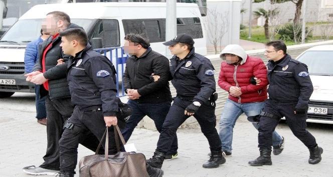 Samsun'da silah kaçakçılığından 4 kişi adliyeye sevk edildi