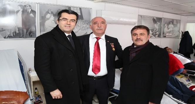 Gaziden Zeytin Dalı Harekatı için kan bağışı