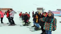 Büyükşehirden kayak akademisi
