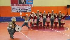 Kahramanmaraşta okullararası halk oyunları turnuvası