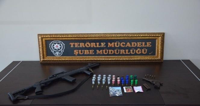 Iğdırda terör operasyonu: 12 gözaltı