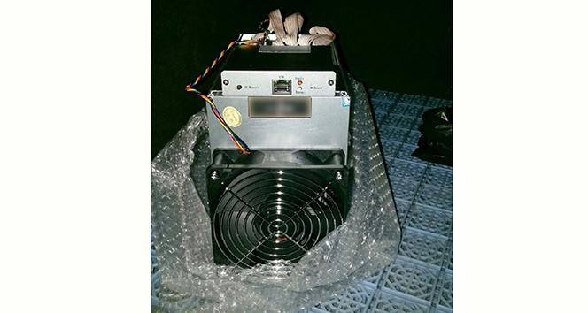 Kapıkulede kripto para üretiminde kullanılan makine ele geçiri