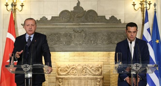 Yunanistan Başbakanı Çiprastan küstah Türkiye çıkışı