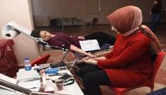 Üniversiteden Mehmetçik için kan bağışı