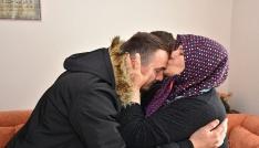 Afrin Gazisi, şehit komutanı Ömer Bilal Akpınarın kabrini ziyaret etti