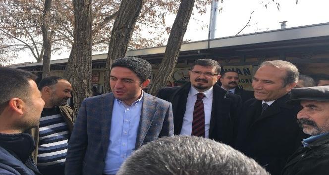 CHP İl Başkanı Kiraz'dan Arguvan'a ziyaret