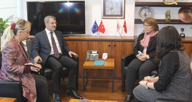İHİK Başkanı Serdar,  Sollorano'yla bir araya geldi