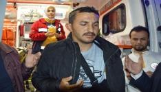 Afrin gazisine Tokatta coşkulu karşılama