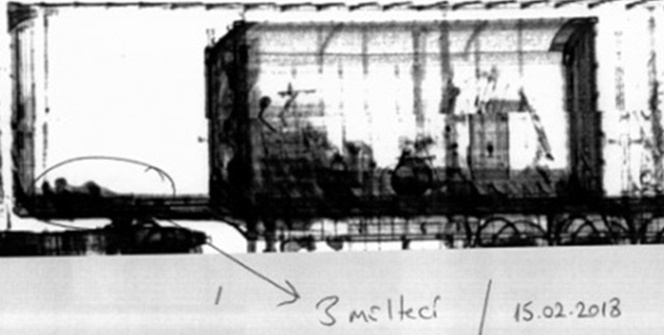 Mültecilerin X- ray cihazındaki fotoğrafları ortaya çıktı