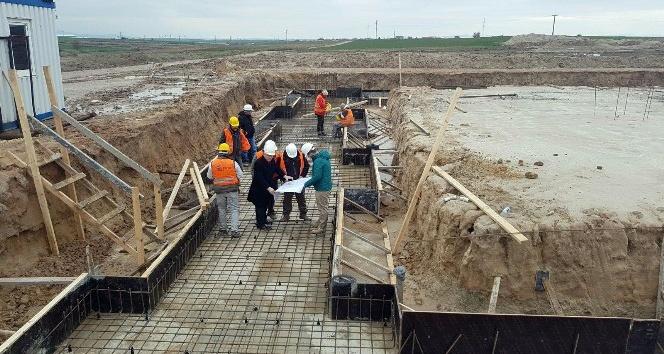 İpsalada 20 bin tonluk lisanslı depo inşaatı başladı