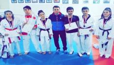 Okullararası Taekwondo İl Birinciliği müsabakaları tamamlandı