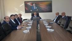 İl Milli Eğitim Müdür Vekili Karadeniz, Kaman İlçesinde okul müdürleri ile toplantı yaptı