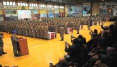 Komando adayı Asteğmenler yemin etti