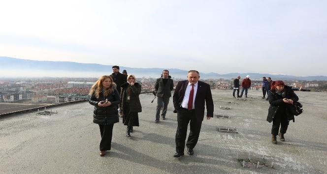 Uluslararası Köroğlu Parkı inşaatı devam ediyor