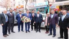 Bakan Yardımcısı Çeklikten Belediye ve AK Parti teşkilatına ziyaret