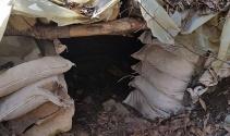Tunceli'de biri 8 katlı ve havuzlu 3 sığınak ele geçirildi