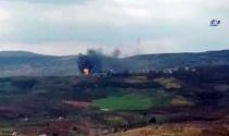Afrin Suvarin yanıyor