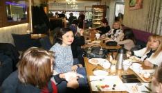 Okul aile birliği üyeleri kahvaltıda buluştu